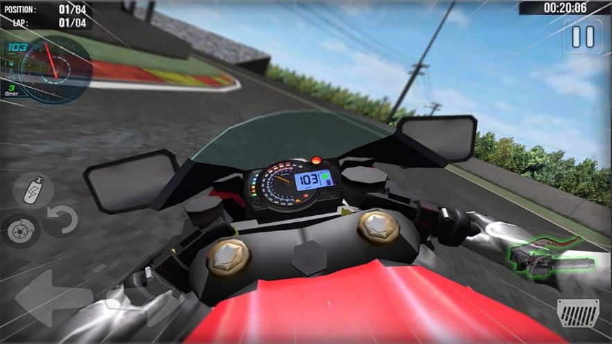 虚拟现实摩托车大赛