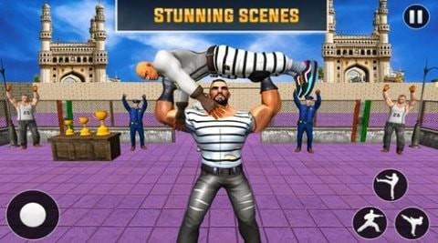 监狱拳击比赛