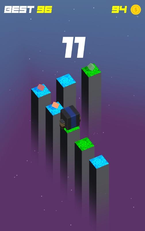 立方体无限跳跃