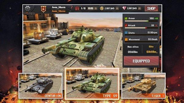 疯狂坦克世界大战