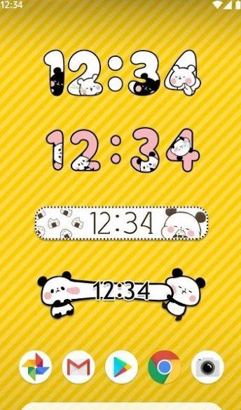 麻薯熊猫闹钟