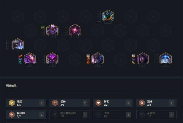 云顶之弈10.14版本6暗星阵容搭配推荐 6暗星当前版本最强阵容分享