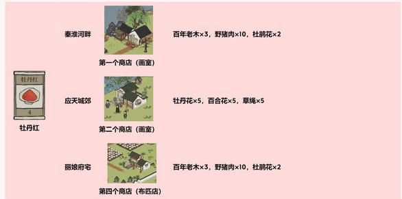 江南百景图颜料怎么得 应天府驿站探险颜料获取一览