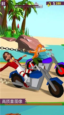 摩托车斗争游戏