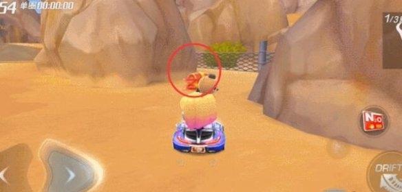 跑跑卡丁车手游沙漠里的水库宝藏在哪 S7第四周宝藏位置一览