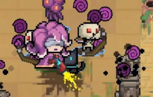 元气骑士死灵法师技能怎么用 死灵法师一二技能玩法攻略