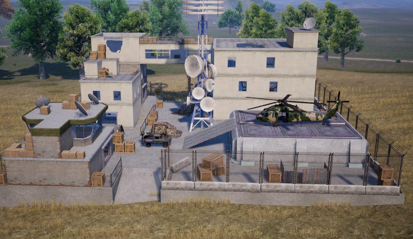 和平精英武装直升机在哪里 武装直升机刷新位置图解
