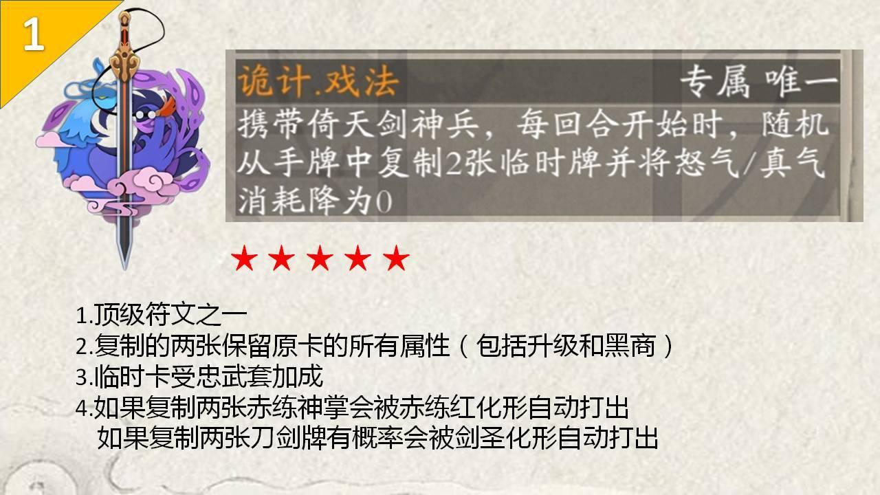 古今江湖倚天剑符文攻略 符文搭配指南