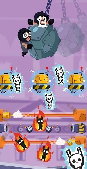强盗飞行游戏