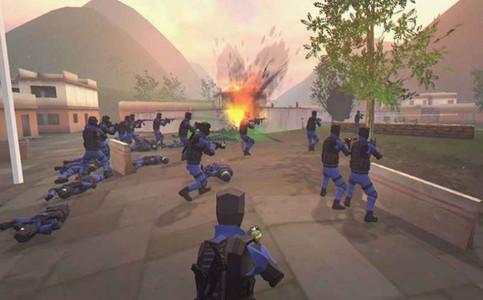 模拟枪战游戏