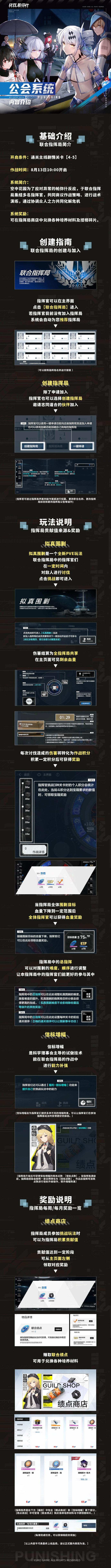 战双帕弥什公会系统介绍 联合指挥局玩法及奖励汇总