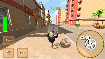 轮式自行车3D