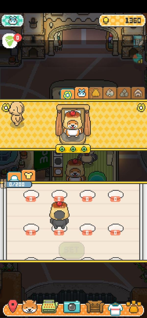 柴犬店长的可丽饼店换装攻略 服装怎么更换