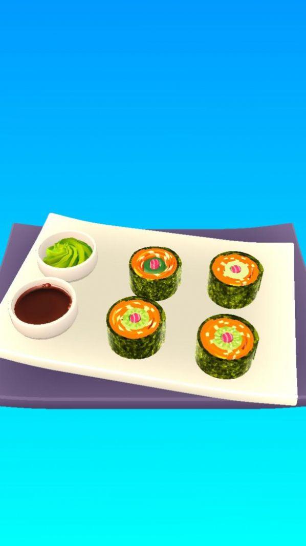 卷卷寿司游戏