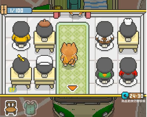 柴犬店长的可丽饼店界面按键作用说明 界面各按键玩法解析