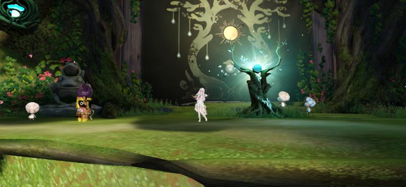 天谕手游星茸之森景点在哪里 星茸之森景点位置大全