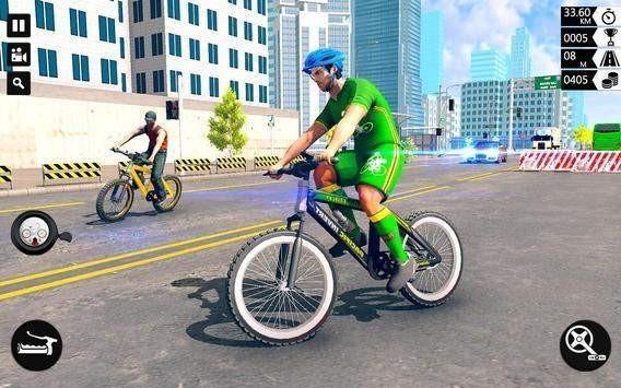 极限自行车赛公路骑手