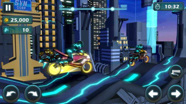 未来摩托骑士游戏
