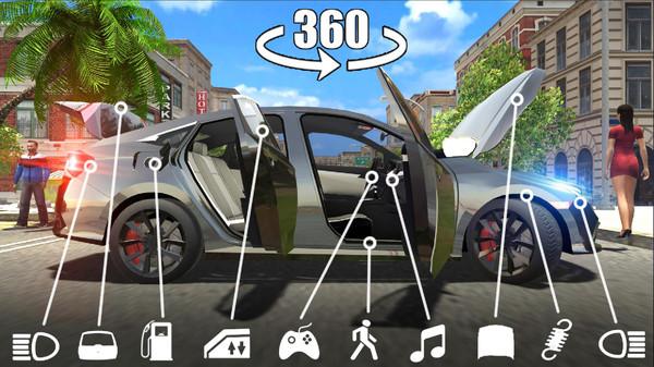 汽车城市驾驶模拟器