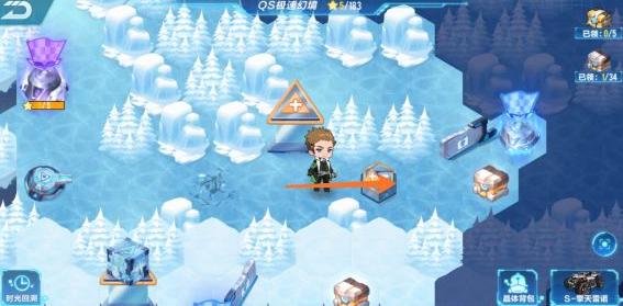 QQ飞车手游无尽风雪怎么过 QS极速幻境第三期第1关通关图文攻略