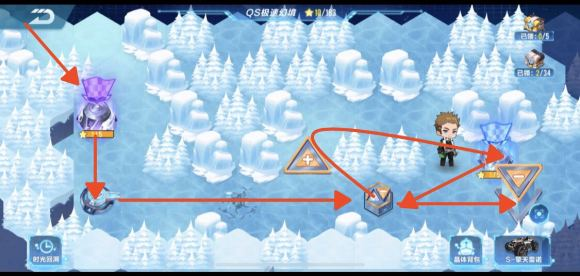 QQ飞车QS幻境第三期攻略 第三期第一关通关流程分享