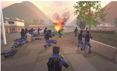 模拟枪战手游
