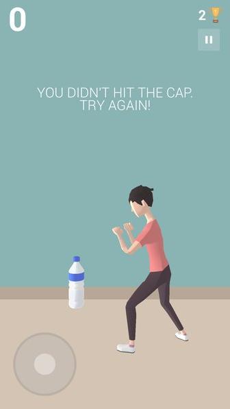 Bottle Cap Game