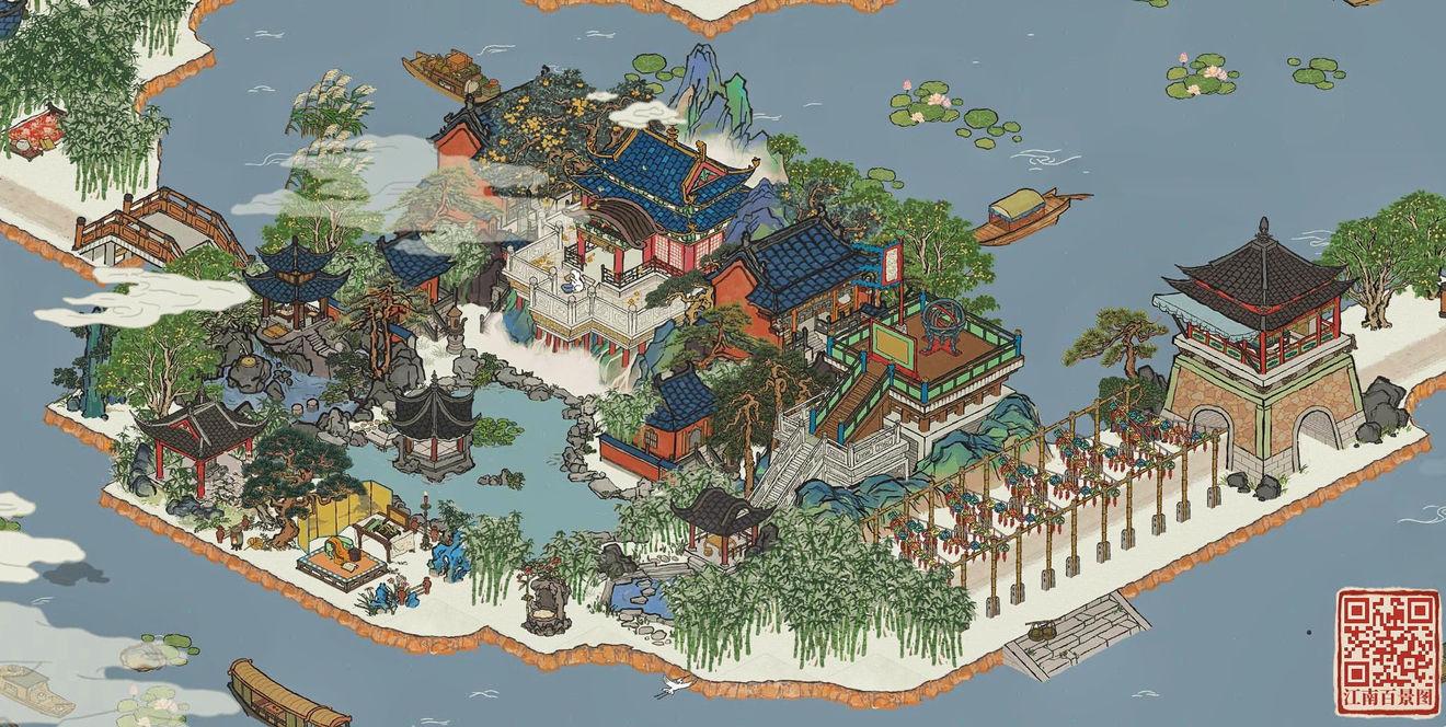 江南百景图望湖亭布局攻略 布局方法及建筑摆放一览