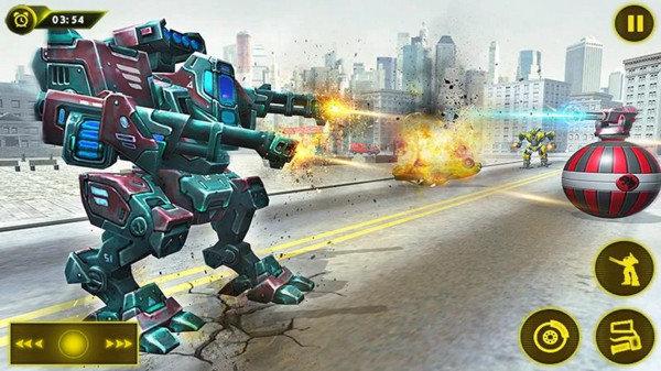 机甲军团机器人大战