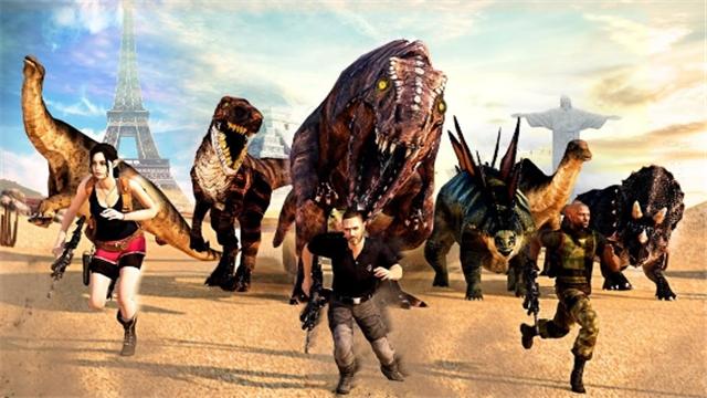 恐龙猎人狙击手3D