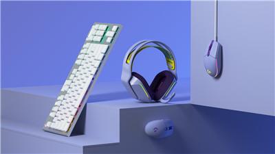 全新萨勒芬妮同款罗技G733无线游戏耳机等多款游戏装备 多彩热卖中