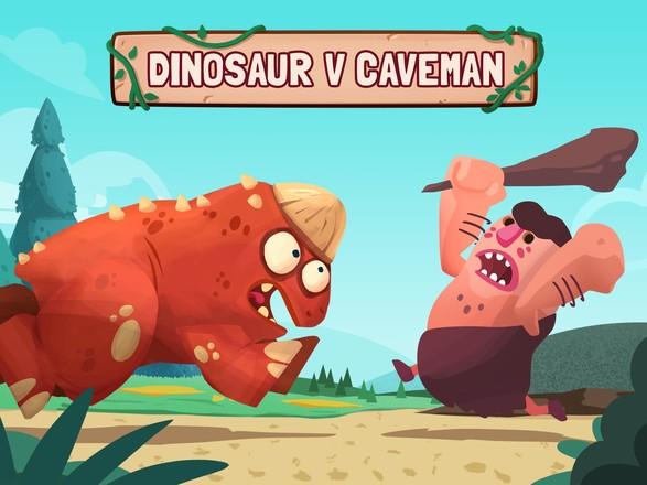 恐龙原始人大战