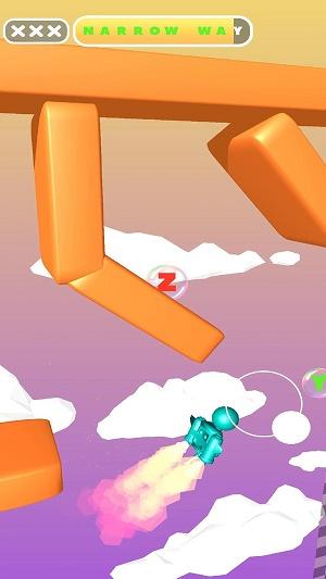 喷气飞行游戏