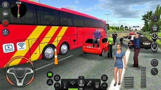 现代长途客车模拟器