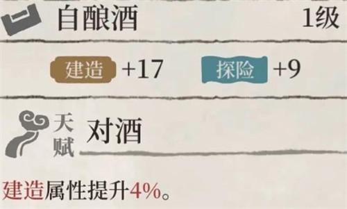 江南百景图自酿酒珍宝属性图鉴介绍
