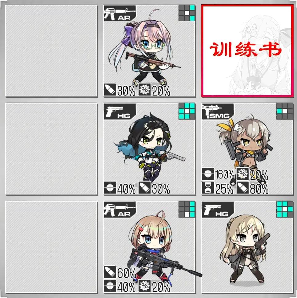 少女前线12月7日至13日铁血融合演习配队攻略