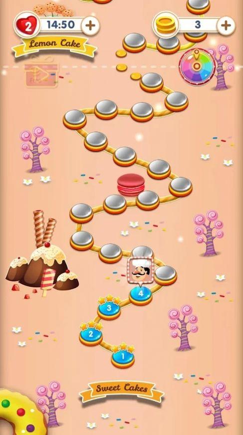 蛋糕甜點消消樂