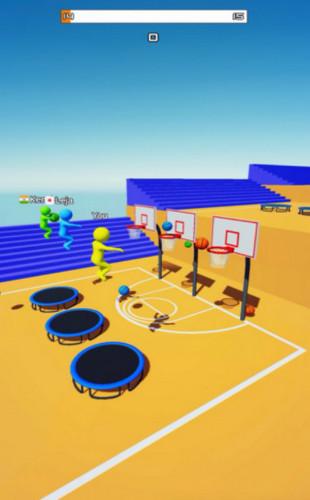 飞天大灌篮3D游戏