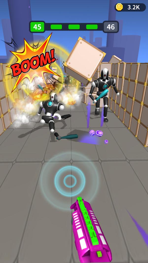 射擊大師機器人
