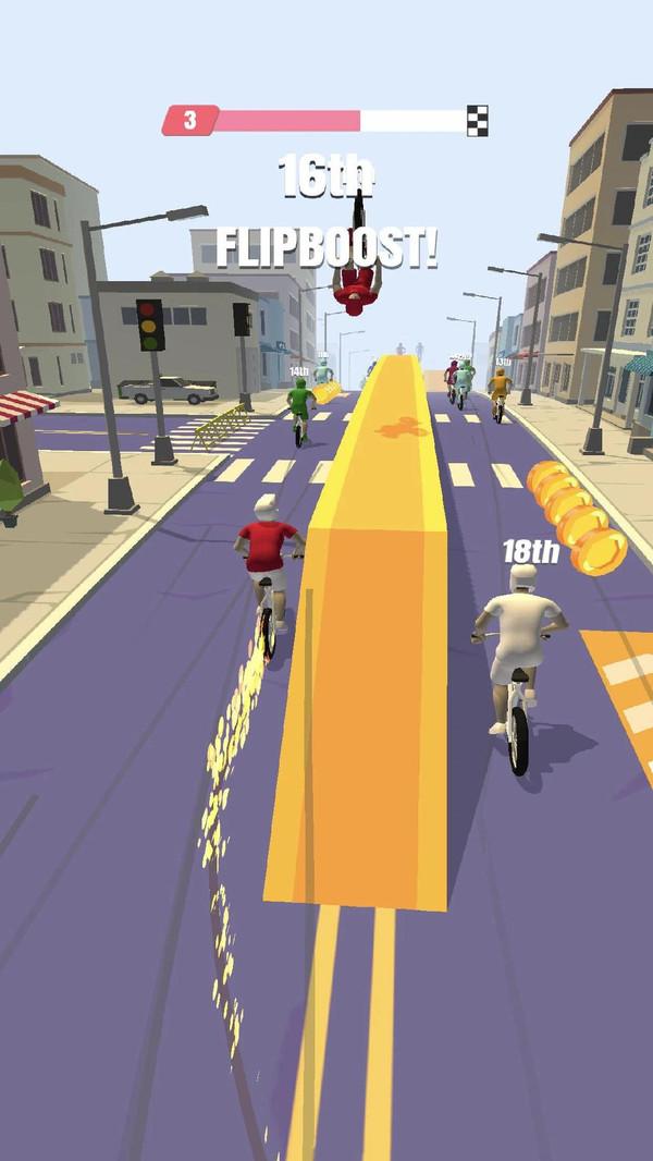 自行车冲刺游戏app开发费用