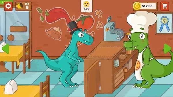 恐龍餐廳游戲