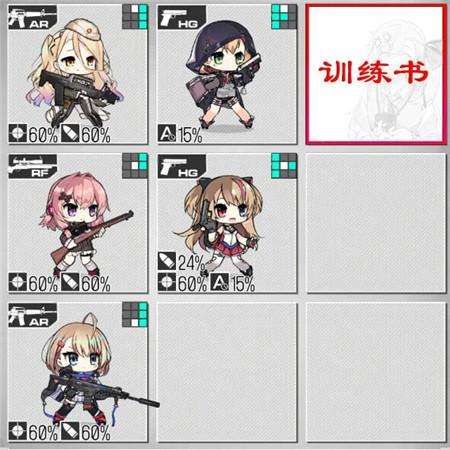 少女前线1.11-1.17铁血融合演习配队攻略