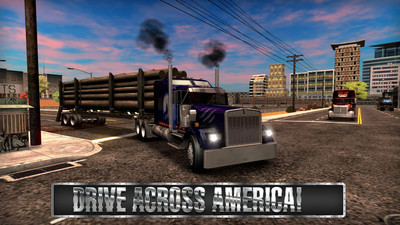 《重卡车模拟app软件开发定制》