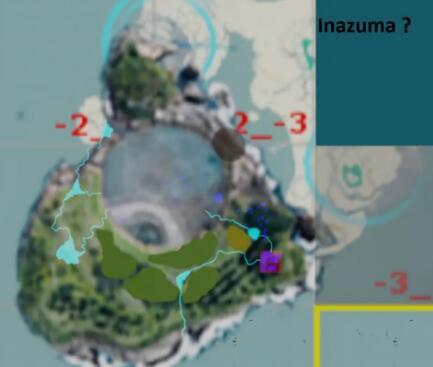 原神稻妻地图抢先预览