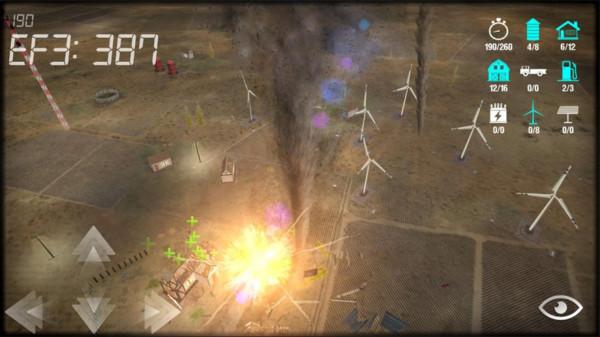 雷电龙卷风模拟器app开发问题