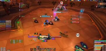 魔兽世界9.0纳斯利亚堡M7猩红议会打法攻略