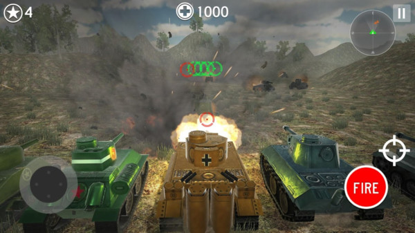王牌坦克大战游戏