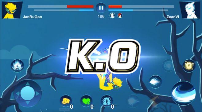 火柴龙战斗超级火柴超战士