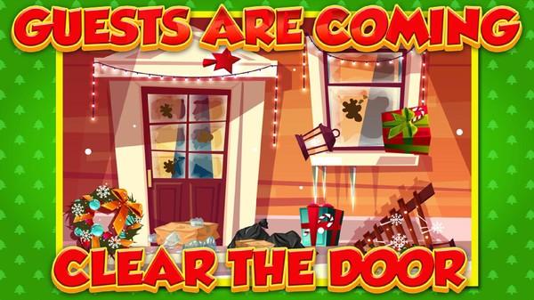 圣诞娃娃小屋
