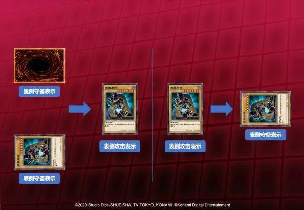 游戏王决斗链接怪兽表示形式规则介绍